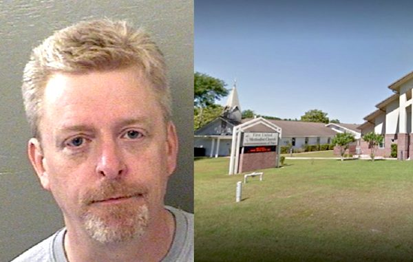 David Donald Hoppenjan, Senior Pastor at the First United Methodist Church of Pace, among those arrested.