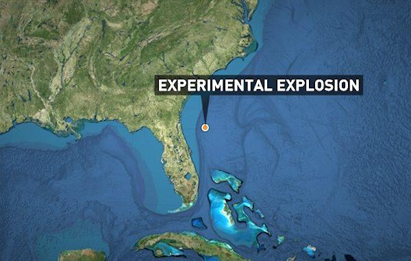 Florida Earthquakes Really Navy Explosives Off Coast