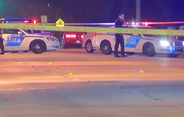 Orlando pool hall shooting leaves one dead (Photo by WOFL FOX 35)