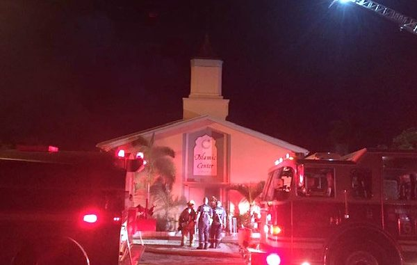 Pulse Nightclub Shooter's Mosque Up In Flames
