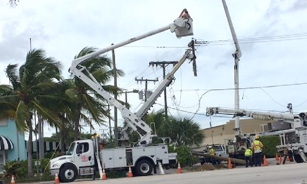 FPL customers without power in Vero Beach, Florida.