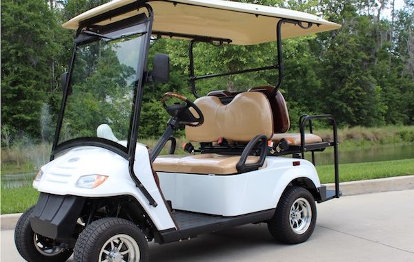 Tammy Russell of Melbourne died in a golf cart Saturday night.