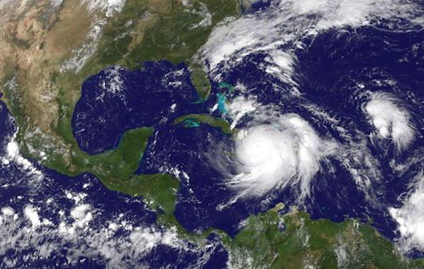 A hurricane watch has been issued for Florida.