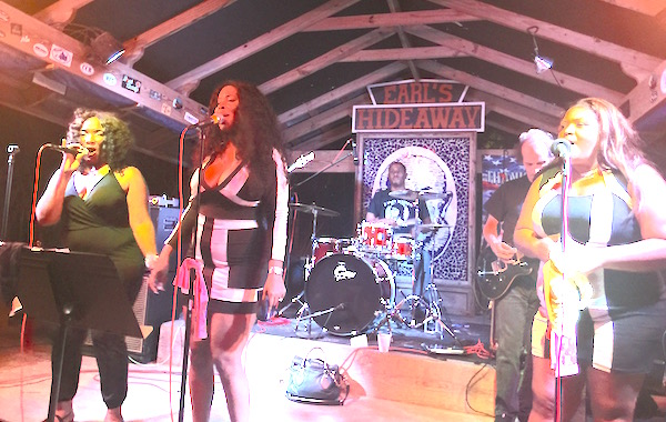 The Ladies of Soul at Earl's Hideaway in Sebastian, Florida.