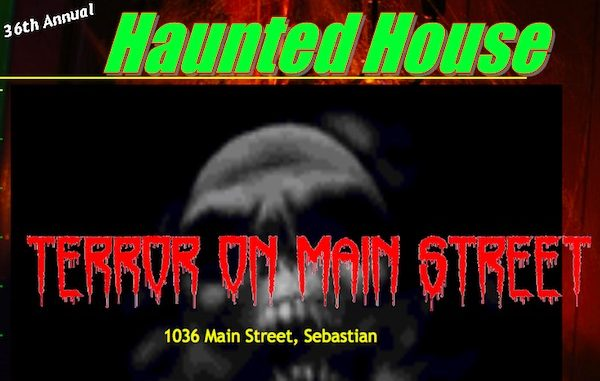Haunted House in Sebastian, Florida