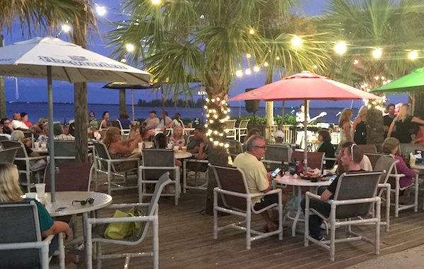 Tiki Bar & Grill patrons share stories after Hurricane Matthew in Sebastian.
