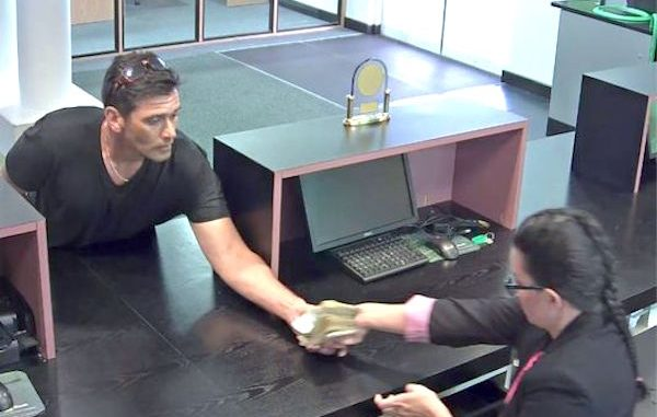 TD Bank robber identified.