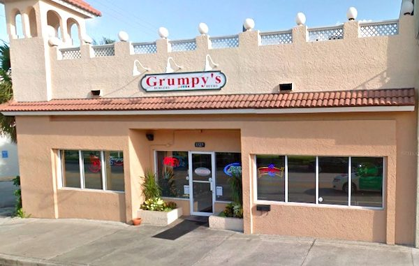 Grumpy's in Vero Beach, Florida.