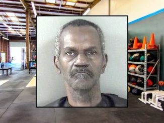 Man caught stealing money at CrossFit Vero Beach.