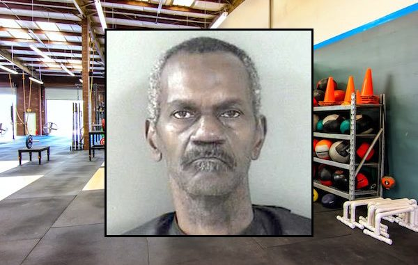 Man caught stealing money at CrossFit Vero Beach.