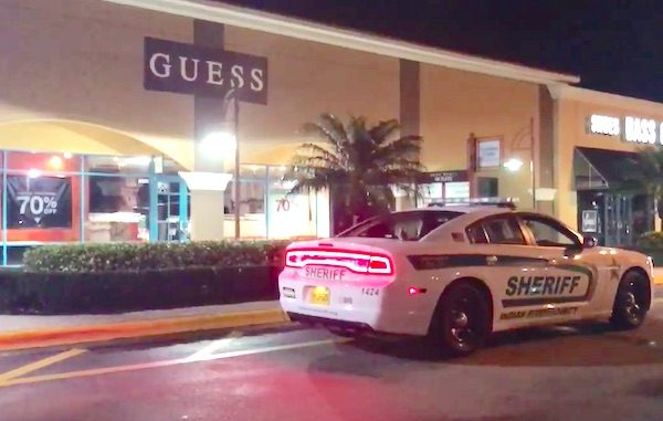 A man robbed a Guess store at the Vero Beach Outlet Mall at gunpoint.