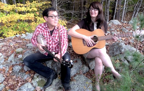 Vermonters Rebecca Hall and Ken Anderson of Hungrytown will perform in Sebastian, Vero Beach.