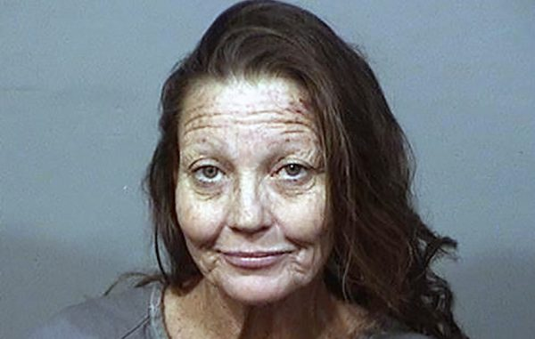 Kathy Jones was arrested after running over a person during a road rage incident.