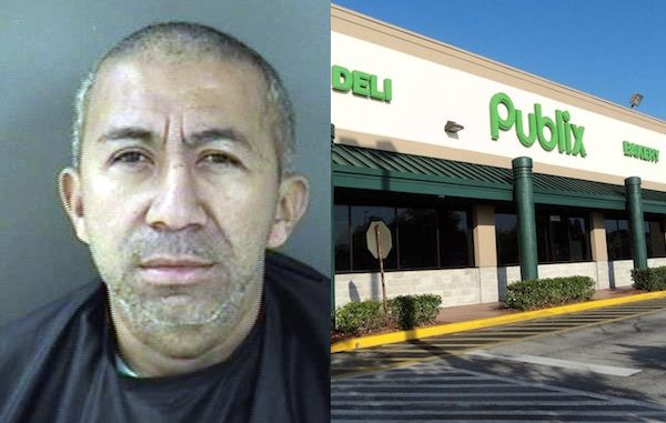 Publix in Sebastian calls police over intoxicated man causing disturbance.
