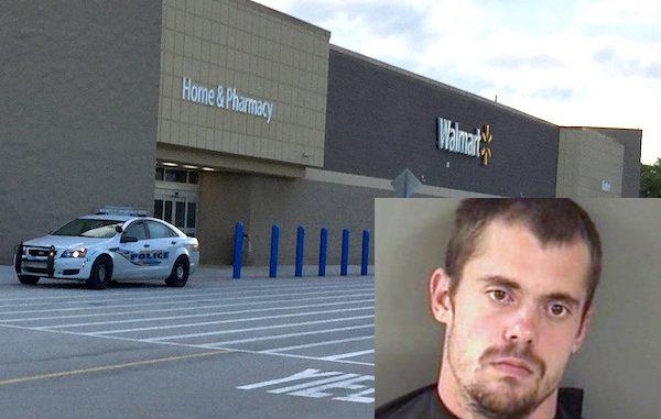 A Squid Lips employee was seen stealing TVs at the Sebastian Walmart.
