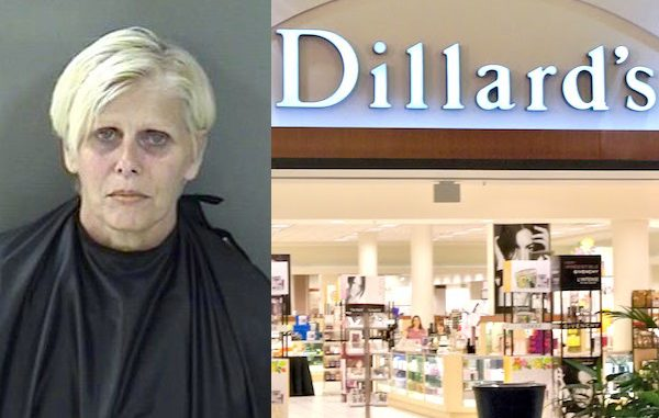 Sebastian woman thought she could steal from Dillard's.