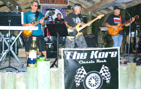 Earl's Hideaway presents The Kore band.