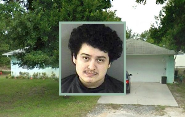 Man walks into home in Fellsmere.