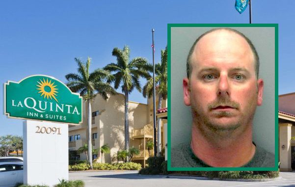 Florida man sets off fire alarm at La Quinta hotel in underwear.