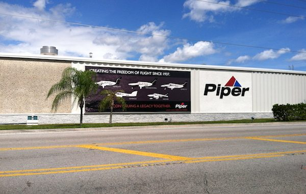 Ron Gunnarson joins Piper Aircraft in Vero Beach as Vice President, Sales, Marketing and Customer Support.