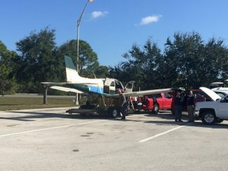 Pilot makes emergency landing in Vero Beach.