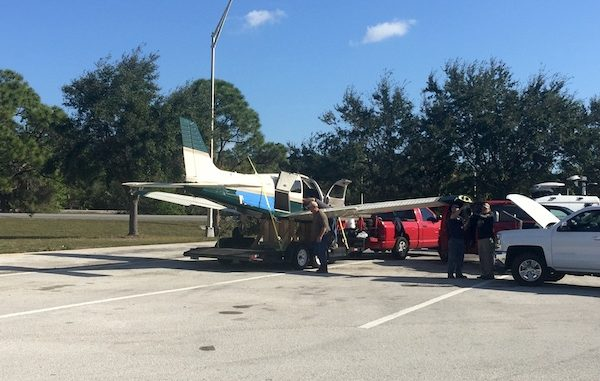 Pilot makes emergency landing in Vero Beach.
