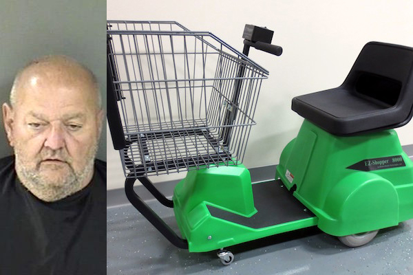 Sebastian Man Drives Motorized Grocery Cart To Hospital Sebastian Daily