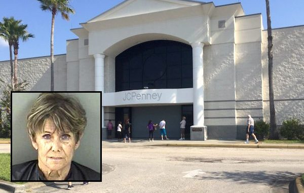 Vero Beach woman told people she didn't have any money to buy merchandise at JCPenney.