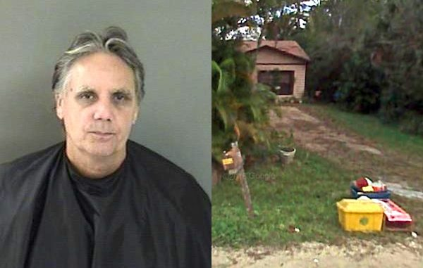 Vero Beach man drags girlfriend out of home and locks the door over a movie.