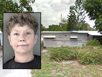 Woman punches neighbor at RV park in Vero Beach.