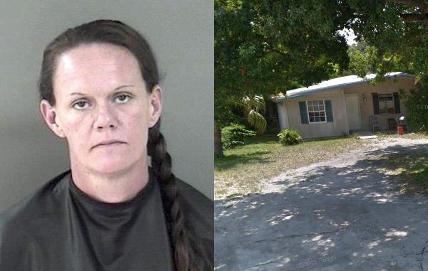 Woman smacked with beer can in Vero Beach.