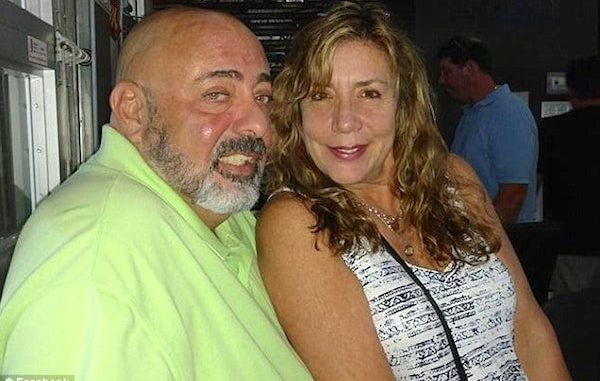 Kerry Lee Pineiro was arrested after beating up her husband in Seminole, Florida.