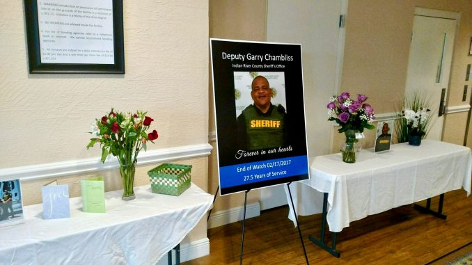 Deputy Garry Chambliss honorably served Indian River County for 27 1/2 years.