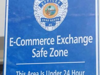 Vero Beach Police Department announces E-Commerce Exchange Safe Zone location.