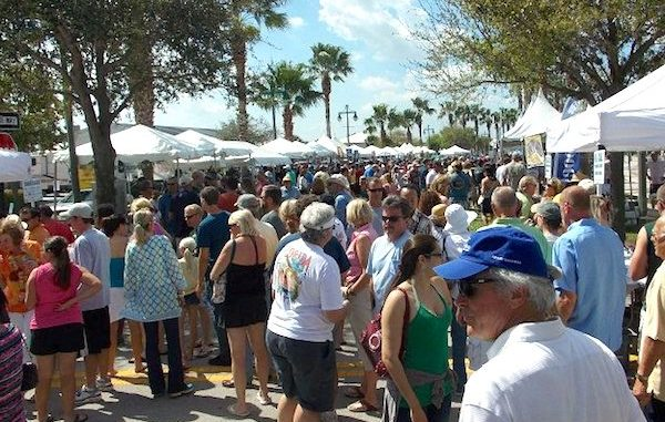 The Florida Craft Brew and Wingfest gets underway in Vero Beach.
