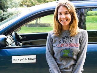 More Good a road trip to every state in the U.S. to collect stories of human kindness.