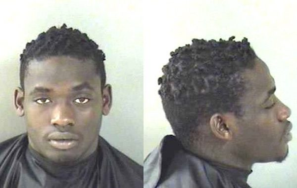 Sebastian River High School football player arrested on felony gun charge in Vero Beach.