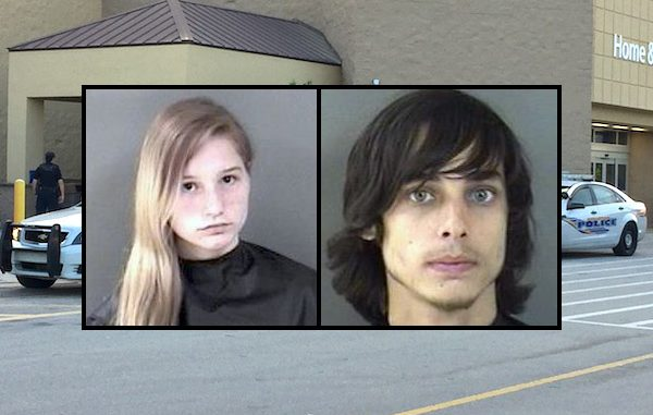 Shoplifters stole tampons, a cell phone, and a BB gun from the Walmart in Sebastian.