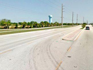Vero Beach motorist runs over young child.