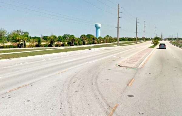 Vero Beach motorist runs over young child.