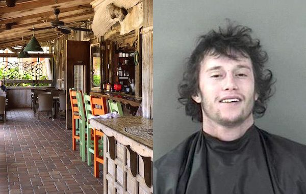 Vero Beach man arrested at Waldo's after urinating near bar.
