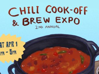 The 2nd annual Brews N' Beans Chili Cook-Off Brew Expo that will take place on Saturday, April 1, from 1-5 p.m. at Pareidolia Brewing Co.