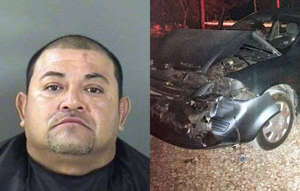 Man leaves accident scene in Fellsmere and arrested for DUI, leaving scene of accident, and driving on a suspended license.