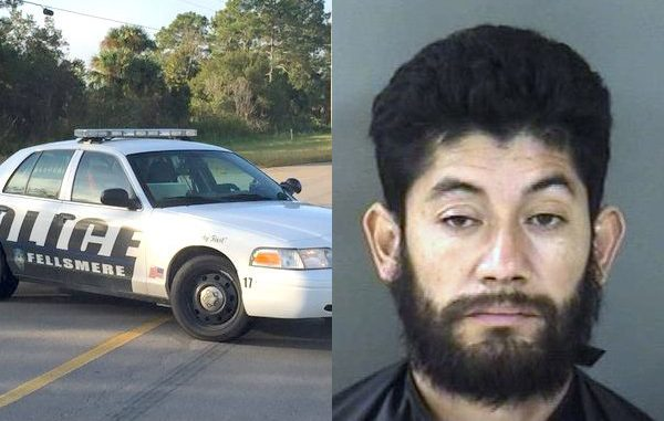 Man charged with DUI after nearly colliding with Fellsmere Police officer.
