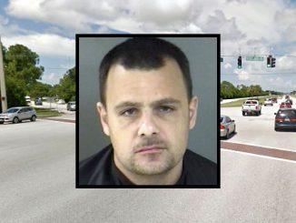 Motorist arrested after leaving accident scene in Sebastian.