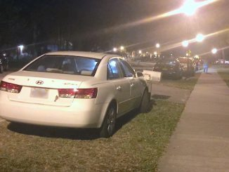 Vehicles are not allowed to park on the side of the road on Indian River Drive in Sebastian.