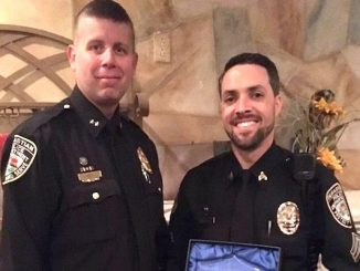 Sebastian Police Department awards Officer of the Year.