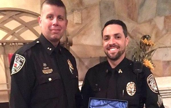 Sebastian Police Department awards Officer of the Year.
