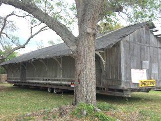 The original train depot of Sebastian has returned home.