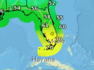Indian River County residents wake up to colder temperatures, but warmer weather on the way for Sebastian and Vero Beach.